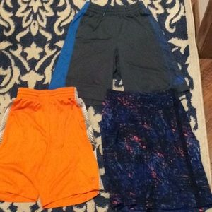 Three pairs of shorts (adidas, C9, xersion)